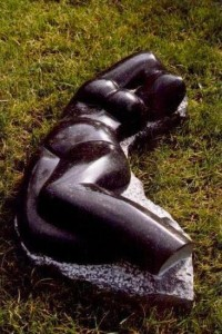 Lyining Nude